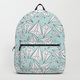 Paper Airplanes Mint Backpack