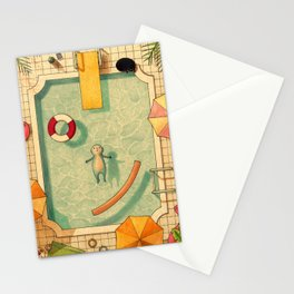 Pool Thoughts Stationery Cards