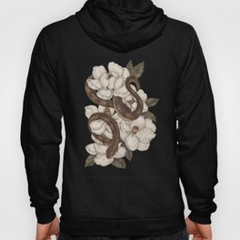 Snake and Magnolias Hoody
