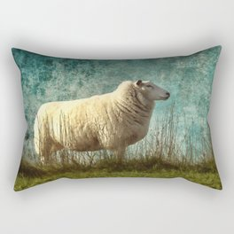 Vintage Sheep Rectangular Pillow