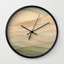 #42. DANIEL - Hills Wall Clock
