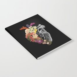 Flower Heart Spring Notebook
