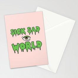 Sick Sad World Stationery Cards