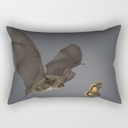 Brown Long-eared Bat Rectangular Pillow