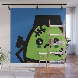 Creepy Egg Frankenstein - Halloween Wall Mural