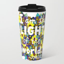 I Am The Light Of The World Travel Mug