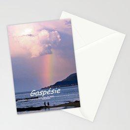 Rainbow on the Coast Stationery Cards