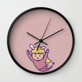 HAPPY KAKA PINK Wall Clock