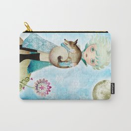 Wintry Little Prince Carry-All Pouch