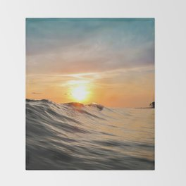 Sunset in Paradise Throw Blanket