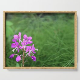 Fireweed Wildflower Serving Tray