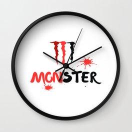 Ltd Edition:monster art Wall Clock