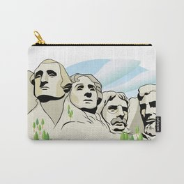 Mont Rushmore - United States Carry-All Pouch