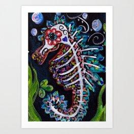 Caballito De Mar Art Print