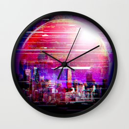 FUTure CITy Wall Clock