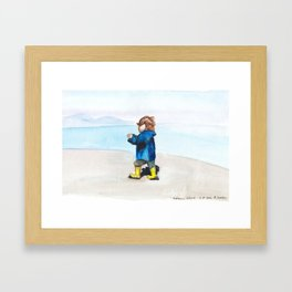 Zozo Framed Art Print