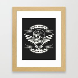 Sons of Arthritis Ibuprofen Chapter Framed Art Print