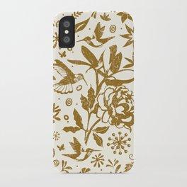 Oh, beautiful garden of mine iPhone Case