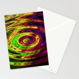 Holland Chakra Circle Violet Stationery Cards