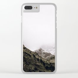 The Mountains VI / Bavarian Alps Clear iPhone Case
