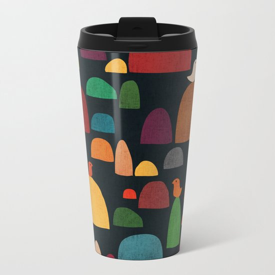 The zen garden Metal Travel Mug
