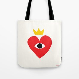 King of my heart Tote Bag