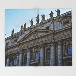 Vatican City Throw Blanket