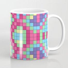 Checkerboard Squares Abstract Coffee Mug