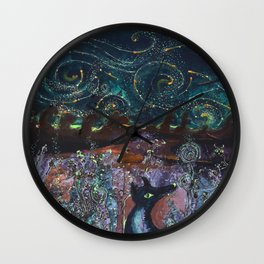 Perseids Wall Clock