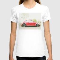 vw T-shirts featuring VW Beetle by Dash Kadam