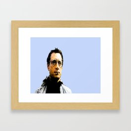 WE NEED A BIGGER BOAT, CHIEF BRODY, JAWS Framed Art Print