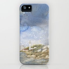 Little Manitou Island Lighthouse iPhone Case