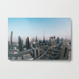 View from Dubai Metal Print