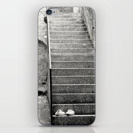 Italian street stairs iPhone Skin