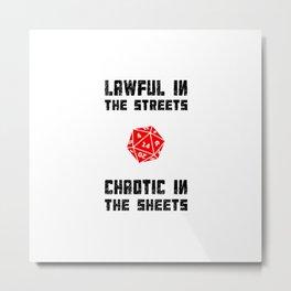 Lawful Metal Print