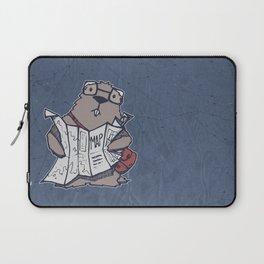A Geeky Marmot Laptop Sleeve