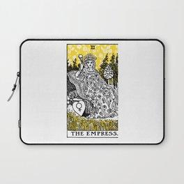 A Floral Tarot Print - The Empress Laptop Sleeve