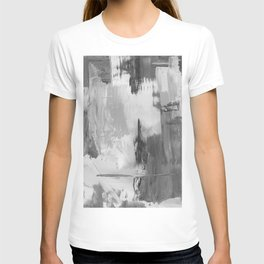 Paint (Black and White) T-shirt