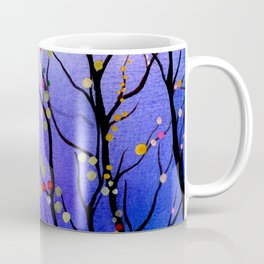 sparkling winter night sky Coffee Mug