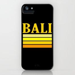 Bali Distressed Retro iPhone Case