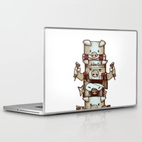 totem Laptop & iPad Skins featuring Totem by tipa graphic