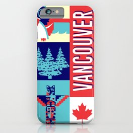 my vancouver iPhone Case