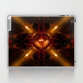 Gold speaker Laptop & iPad Skin