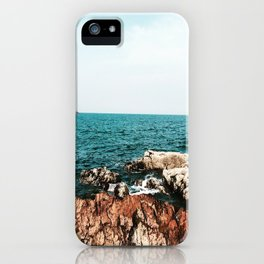 Marblehead on the Rocks iPhone Case