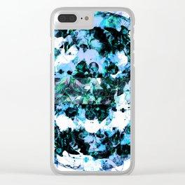 CyberTelexaTr0n Clear iPhone Case