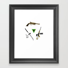 the weapons of firefly Framed Art Print