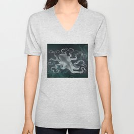 Dreaming of Kraken Unisex V-Neck