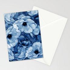 Vintage Rosas Indigas Stationery Cards