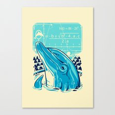 Aquatic problem Canvas Print