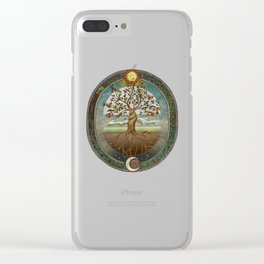 Ouroboros Clear iPhone Case